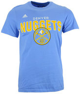 adidas Men's Short-Sleeve Denver Nuggets Straight To The Hoop T-Shirt