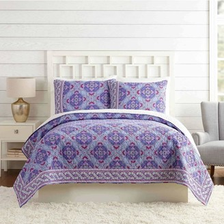 Vera Bradley Lilac Tapestry Quilt Full/Queen