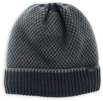 Dockers Bird's-Eye Faux Shearling-Lined Beanie