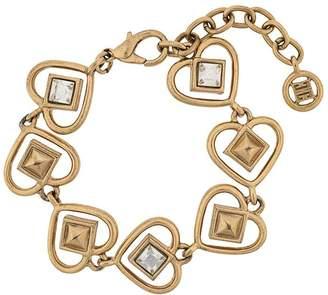 Givenchy Pre-Owned heart link bracelet