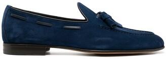 Santoni Tassel-Detail Loafers