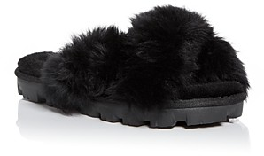UGG Women's Fuzzalicious Slide Slippers