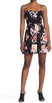Material Girl Ruffle Hem Dress