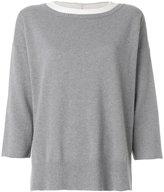 Fabiana Filippi loose fit sweatshirt