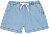 Emile et Ida Cotton Chambray Shorts