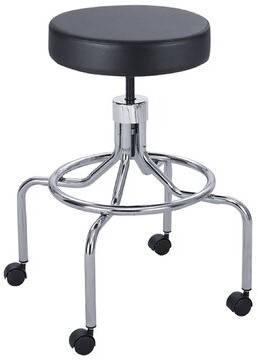 Symple Stuff Urbanski Height Adjustable Lab Stool with 2 Swivel Casters Size: High