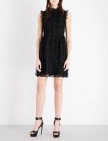 Givenchy Ruffled lace dress
