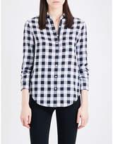 Rag & Bone Gingham cotton shirt