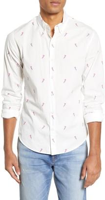 Bonobos Slim Fit Bird Print Button-Down Shirt