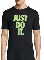 Nike Short-Sleeve JDI Tropical Store Tee