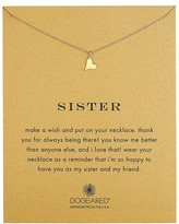Dogeared Sisters Happy Heart Reminder Necklace Necklace