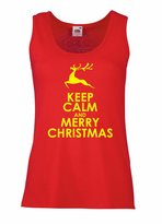lepni.me Female Tank top Christmas gifts Merry Christmas quotes