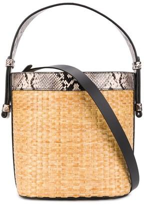 Nico Giani Adenia woven bucket bag