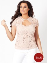 Jessica Wright Estella Lace Top