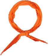 Hermes 70cm Silk Plissé Scarf