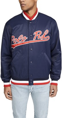 Polo Ralph Lauren Cotton Nylon Baseball Jacket