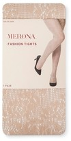 Merona Women's Fashion Tights Sesame Net Collection