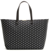 Victoria Beckham Simple Printed Leather Shopper