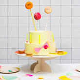 Little Lulubel Bamboo Cake Plate And Stand