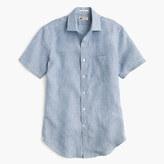 Thomas Mason for J.Crew Ludlow short-sleeve Italian linen shirt
