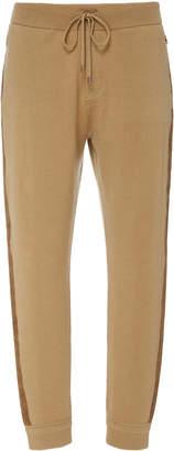 Ralph Lauren Striped Wool Cashmere Sweatpants