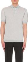 John Smedley Lydgate merino-wool knitted polo shirt
