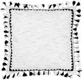 Blissliving Home Corazon European Pillow Sham in Black/White
