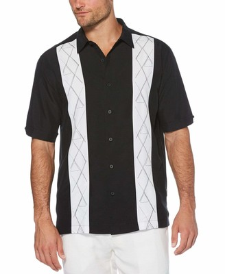 Cubavera Pool Player Embroidered Shirt