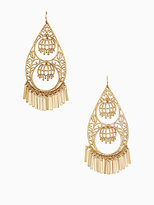 Kate Spade Golden age statement earrings
