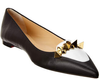 Christian Louboutin Miss Constella Leather Flat
