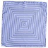Tom Ford Geometric Silk Pocket Square