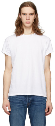 RE/DONE White Fitted 50s T-Shirt