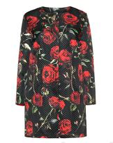 Kirsten Krog Plus Size Floral print jacket