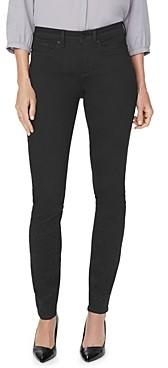 NYDJ Alina Studded Legging Jeans in Black Rinse