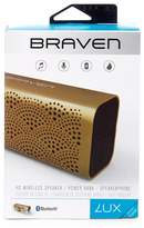Braven Lux Water Resistant Portable Wireless Bluetooth Speaker