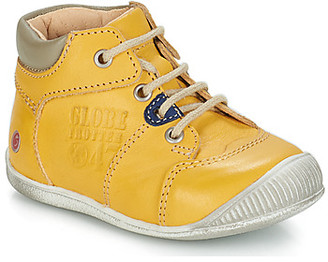 GBB SIMEON boys's Mid Boots in Yellow
