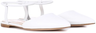 Gianvito Rossi Hedy leather ballet flats
