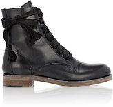 Chloé Women's Lace-Up Ankle Boots-BLACK