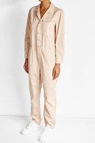 Closed Cotton Jumpsuit with Linen