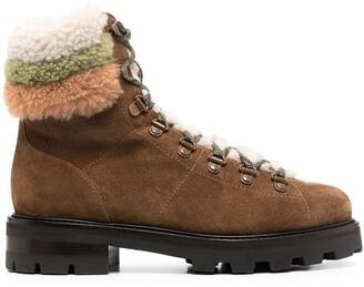 Jimmy Choo Eshe ankle-length hiking boots
