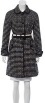 Kate Spade Patterned Long Coat