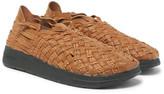 Malibu - + Missoni Woven Faux Leather Sandals