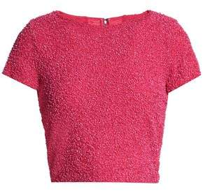 Alice + Olivia Sequined Knitted Top