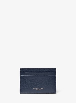Michael Kors Andy Leather Card Case
