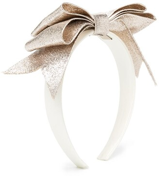Hucklebones London Present Bow hairband