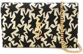 Saint Laurent 'Monogram' star chain wallet