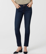 LOFT Curvy Skinny Jeans in Staple Dark Indigo Wash