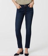 LOFT Curvy Skinny Jeans in Staple Dark Indigo Wash