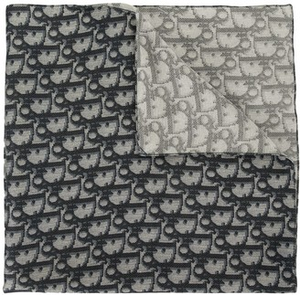 Christian Dior pre-owned Trotter pattern scarf