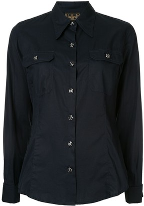 Fendi Pre-Owned Pointed Collar Shirt